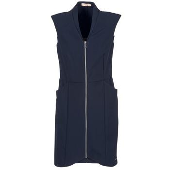 vaatteet Naiset Lyhyt mekko DDP DISTOULA Laivastonsininen