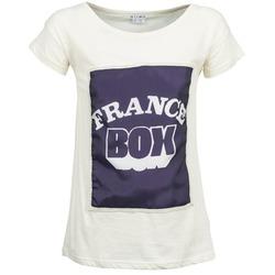 vaatteet Naiset Lyhythihainen t-paita Kling WARHOL Valkoinen