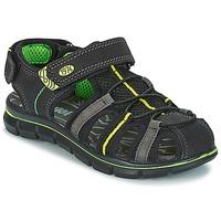 kengät Pojat Sandaalit ja avokkaat Primigi TEVEZ Black / Green