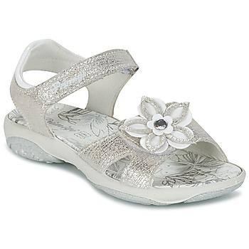 kengät Tytöt Sandaalit ja avokkaat Primigi BREEZOU Argenté