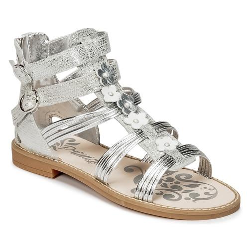 kengät Tytöt Sandaalit ja avokkaat Primigi FANTAYS Argenté