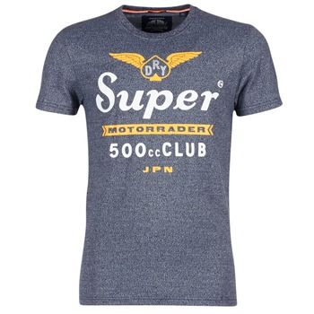 vaatteet Miehet Lyhythihainen t-paita Superdry 500 CLUB MOTORRADER Grey