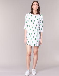 vaatteet Naiset Lyhyt mekko Compania Fantastica ECACTUSSA White