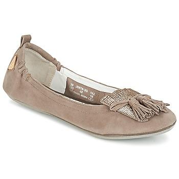 kengät Naiset Balleriinat Bugatti MONATE Taupe