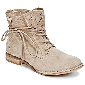 kengät Naiset Bootsit Bugatti REGATE Beige