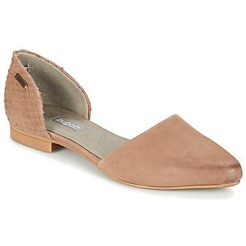 kengät Naiset Balleriinat Bugatti GANOLETE Taupe