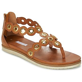 kengät Naiset Sandaalit ja avokkaat Bugatti BRETE Cognac