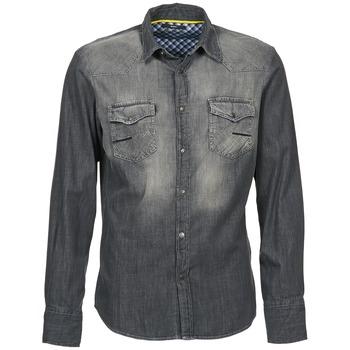 vaatteet Miehet Pitkähihainen paitapusero Meltin'pot CAREY Grey