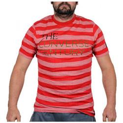 vaatteet Miehet Lyhythihainen t-paita Converse  Punainen