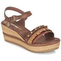 kengät Naiset Sandaalit ja avokkaat Samoa MOLAY Brown