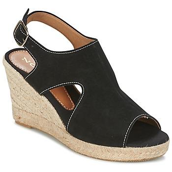 kengät Naiset Espadrillot Nome Footwear DESTIF Black