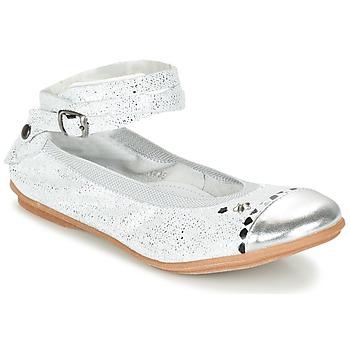 kengät Tytöt Balleriinat Ikks EMILY Silver