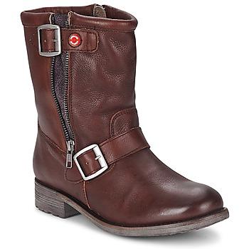 kengät Naiset Bootsit Nobrand FISCHERIES Brown