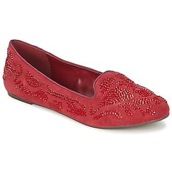 kengät Naiset Mokkasiinit Moony Mood LUDIA Red