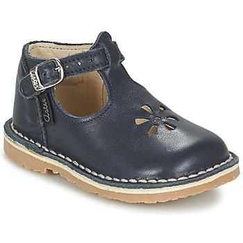 kengät Tytöt Balleriinat Aster BIMBO Blue