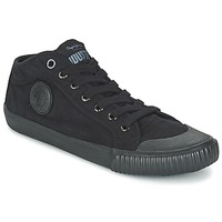 kengät Miehet Korkeavartiset tennarit Pepe jeans INDUSTRY ROUTES Black