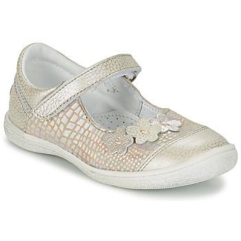 kengät Tytöt Balleriinat GBB PRATIMA Grey / Silver