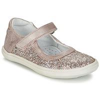 kengät Tytöt Balleriinat GBB PLACIDA Pink / Gold