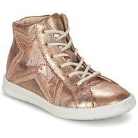 kengät Tytöt Korkeavartiset tennarit GBB PRUNELLA Pink / Gold