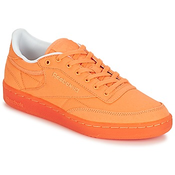 kengät Naiset Matalavartiset tennarit Reebok Classic CLUB C 85 CANVAS Orange