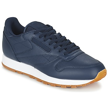 kengät Miehet Matalavartiset tennarit Reebok Classic CL LEATHER PG Blue