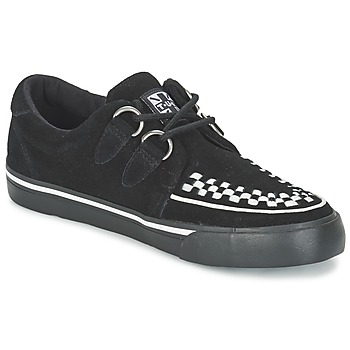 kengät Matalavartiset tennarit TUK CREEPERS SNEAKERS Black / White