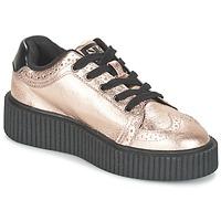 kengät Naiset Matalavartiset tennarit TUK CASBAH CREEPERS Pink / Metallinen