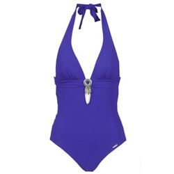 vaatteet Naiset yksiosainen uimapuku Banana Moon SPRING Blue