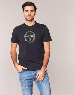 vaatteet Miehet Lyhythihainen t-paita Sergio Tacchini DAVE TEE-SHIRT Black