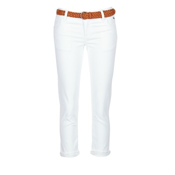 vaatteet Naiset Caprihousut Best Mountain ROSIMALI White