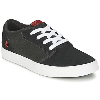 kengät Lapset Matalavartiset tennarit Volcom GRIMM 2 BIG YOUTH Black