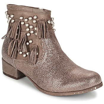 kengät Naiset Bootsit Mimmu MOONSTROP Brown