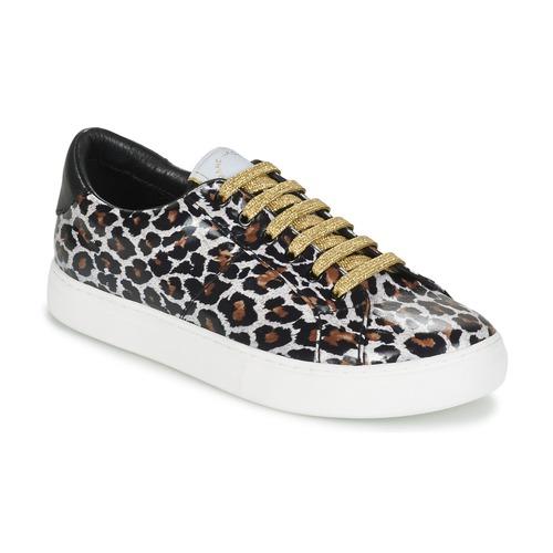kengät Naiset Matalavartiset tennarit Marc Jacobs EMPIRE LACE UP Leopardi