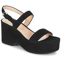 kengät Naiset Sandaalit ja avokkaat Marc Jacobs LILLYS WEDGE Musta