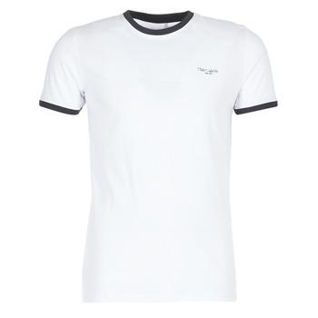 vaatteet Miehet Lyhythihainen t-paita Teddy Smith THE TEE Valkoinen