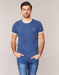 vaatteet Miehet Lyhythihainen t-paita Teddy Smith THE TEE Blue