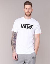 vaatteet Miehet Lyhythihainen t-paita Vans VANS CLASSIC White