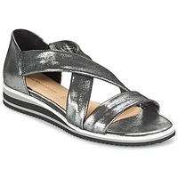 kengät Naiset Sandaalit ja avokkaat Salamander REBECCA Silver