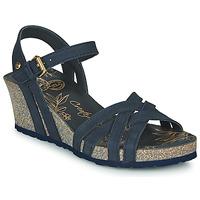 kengät Naiset Sandaalit ja avokkaat Panama Jack VERA Sininen
