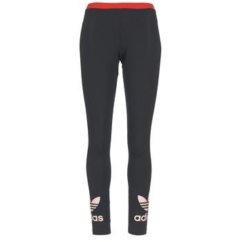 vaatteet Naiset Legginsit adidas Originals TREFOIL LEGGING Black / Pink