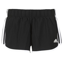 vaatteet Naiset Shortsit / Bermuda-shortsit adidas Performance M10 SHORT WOVEN Black