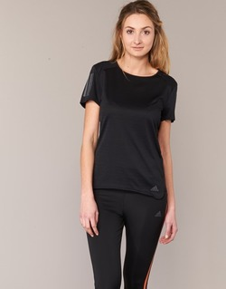vaatteet Naiset Lyhythihainen t-paita adidas Performance RS SS TEE W Black