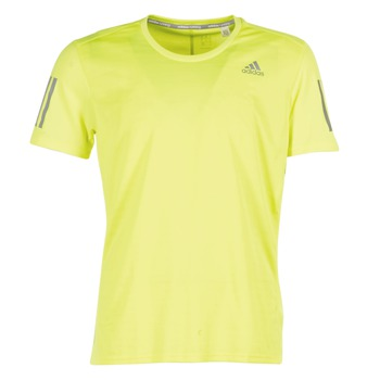 vaatteet Miehet Lyhythihainen t-paita adidas Performance RS SS TEE M Yellow