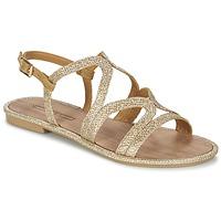 kengät Naiset Sandaalit ja avokkaat Esprit NAZLI SANDAL Gold