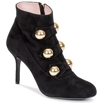 kengät Naiset Nilkkurit Moschino Cheap & CHIC BOW Musta