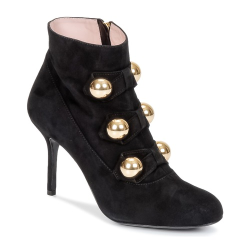 kengät Naiset Nilkkurit Moschino Cheap & CHIC BOW Black