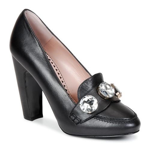 kengät Naiset Korkokengät Moschino Cheap & CHIC STONES Black
