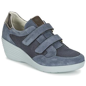 kengät Naiset Matalavartiset tennarit Stonefly EBONY Blue