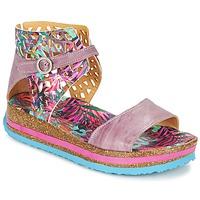 kengät Naiset Sandaalit ja avokkaat Think REMIL Pink / Monivärinen