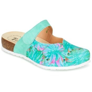 kengät Naiset Puukengät Think SOREN Turkoosi